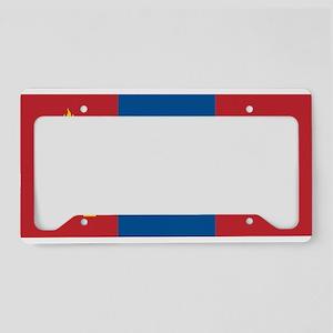 MONGOLIA License Plate Holder