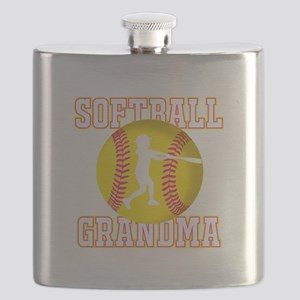 Softball Grandma - Batter Flask