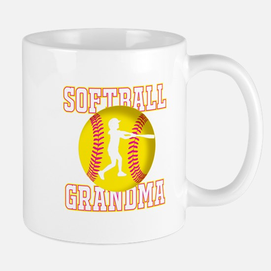 Softball Grandma - Batter Mugs
