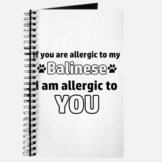 Allergic To My balinese I Am Allergic To Y Journal