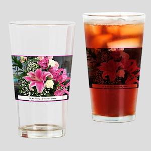 Stargazer Lilies Drinking Glass