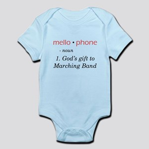 Definition of Mellophone Infant Bodysuit