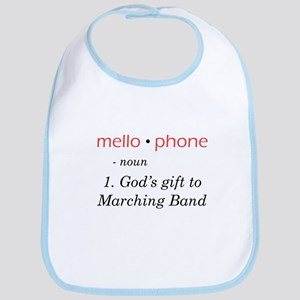 Definition of Mellophone Bib