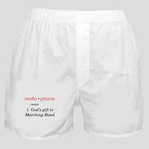 Definition of Mellophone Boxer Shorts