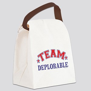 TRUMP SUPPORTER | Team Deplorable Canvas Lunch Bag