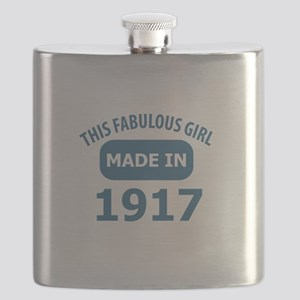 This Fabulous Girl Made In 1917 Flask