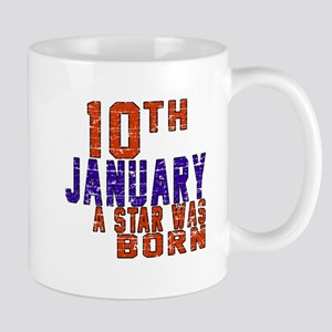 10 January Birthday Designs Mug