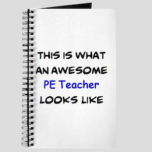 awesome pe teacher Journal