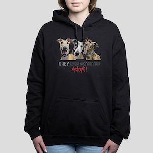 Grey Lives Matter Too AD Women's Hooded Sweatshirt