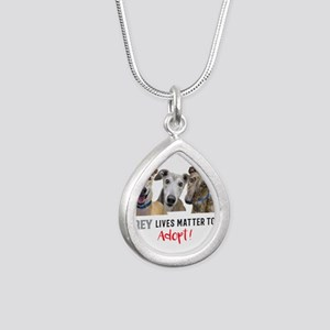 Grey Lives Matter Too ADOPT! Necklaces