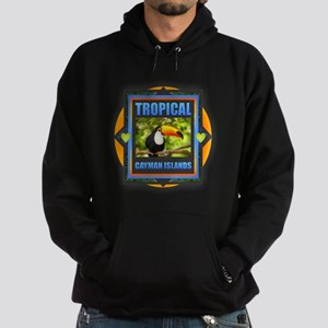 Cayman Islands Hoodie (dark)