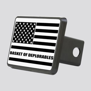 Basket of Deplorables Rectangular Hitch Cover