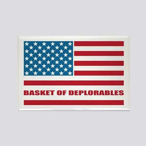 Basket of Deplorables Rectangle Magnet