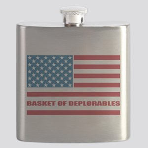Basket of Deplorables Flask
