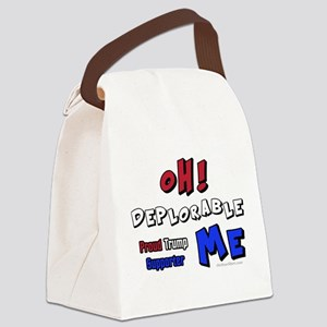 TRUMP SUPPORTER | OH Deplorable Canvas Lunch Bag
