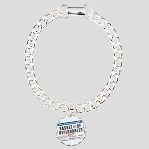 Basket of Deplorables Charm Bracelet, One Charm