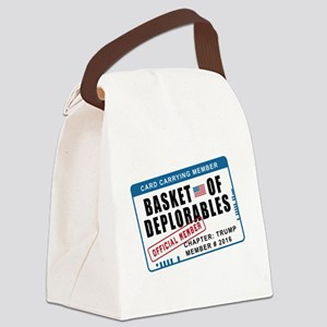 Basket of Deplorables Canvas Lunch Bag