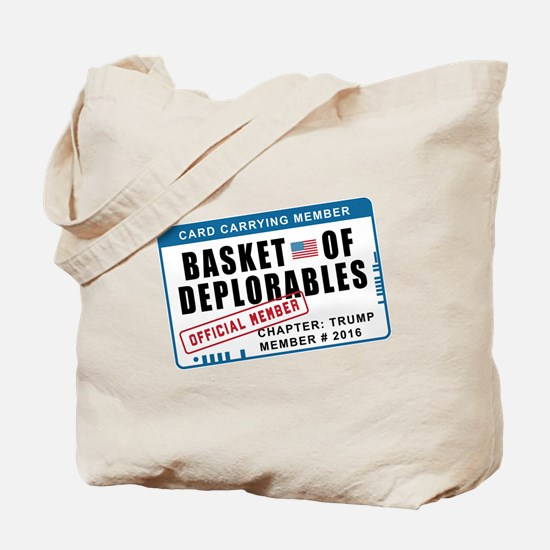 Basket of Deplorables Tote Bag