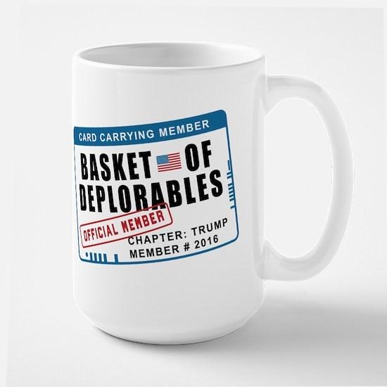 Basket of Deplorables Large Mug