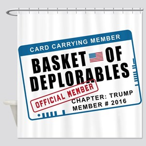 Basket of Deplorables Shower Curtain