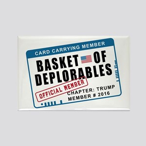 Basket of Deplorables Rectangle Magnet