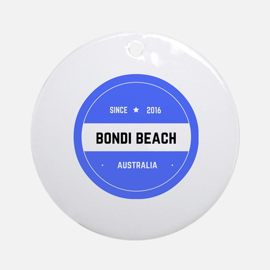 Cute Sydney Round Ornament