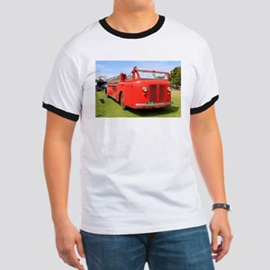 Old red fire truck T-Shirt