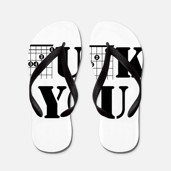 f chord uck you guitar tabs music funny Flip Flops