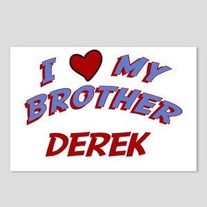 I Love My Brother Derek Postcards (Package of 8)