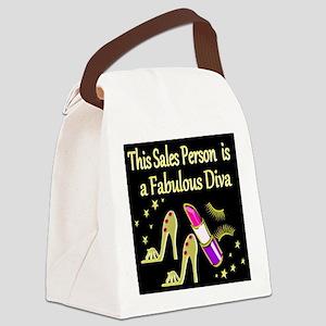 SALES PERSON Canvas Lunch Bag