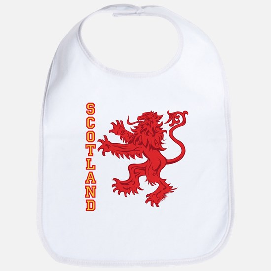 Lion R Scotland Cotton Baby Bib