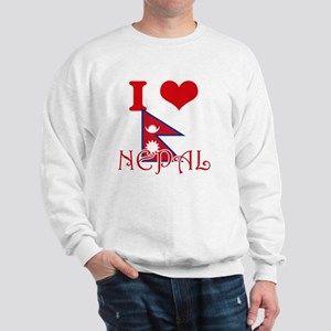 I Love Nepal Sweatshirt