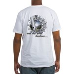 The Road Beckons Fitted T-Shirt