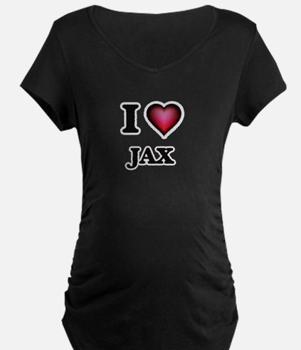 I love Jax Maternity T-Shirt