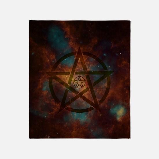 Cool Pentagram Throw Blanket