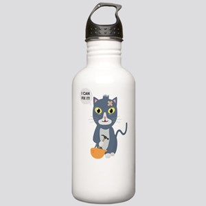 Construction Worker Ca Stainless Water Bottle 1.0L