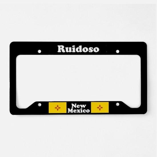 Ruidoso NM - LPF License Plate Holder