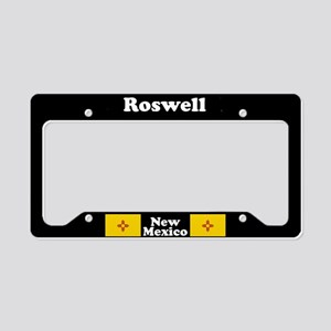 Roswell NM - LPF License Plate Holder