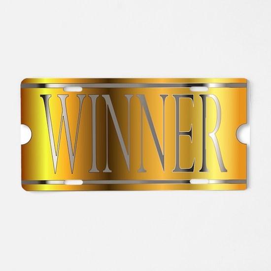 Unique Winning Aluminum License Plate