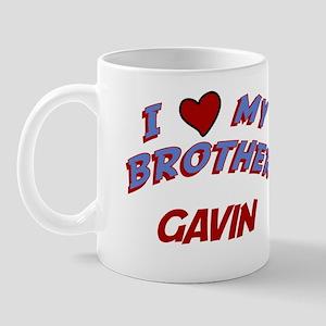 I Love My Brother Gavin Mug