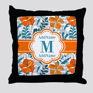 Custom Personalized Monogrammed Throw Pillow