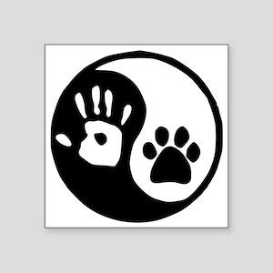 Yin Yang Hand Paw Sticker