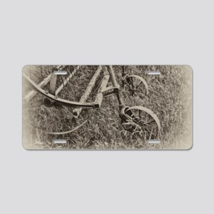 Harvest Equipment Aluminum License Plate