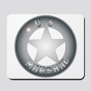 US Marshal Badge Mousepad