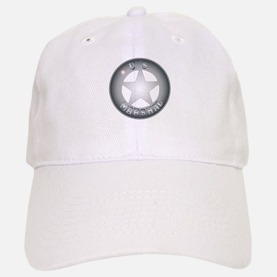 US Marshal Badge Baseball Baseball Cap