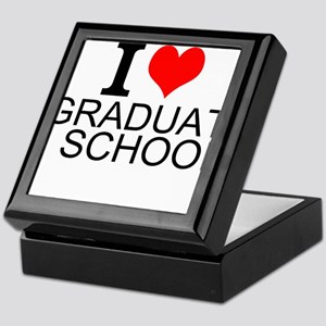 I Love Graduate School Keepsake Box
