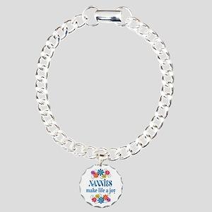Nannie Joy Charm Bracelet, One Charm