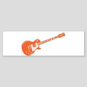 Duo Tone Rock Standard Guitar Bumper Sticker