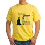Dracula Phlebotomists Yellow T-Shirt