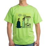 Dracula Phlebotomists Green T-Shirt